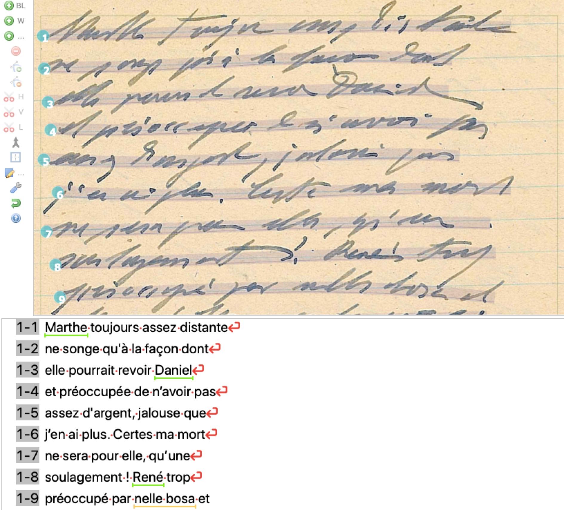 Transcription assistée par reconnaissance optique – Transkribus : l'expérience du journal intime d'Eugène Wilhelm (1885-1951)